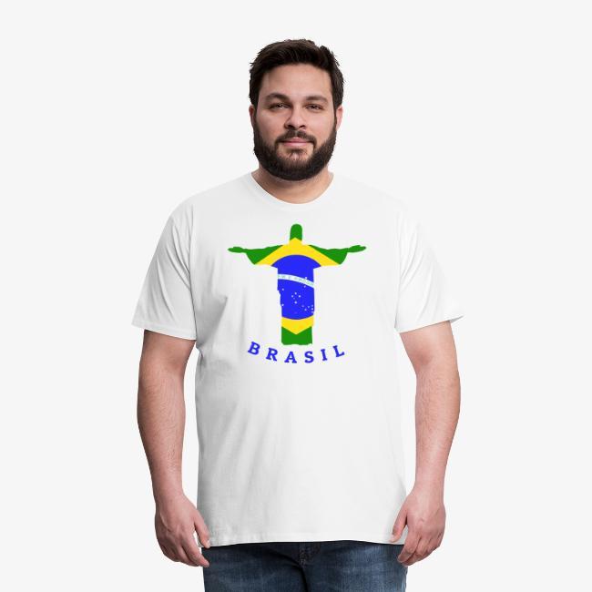 Brasil Flag Statue