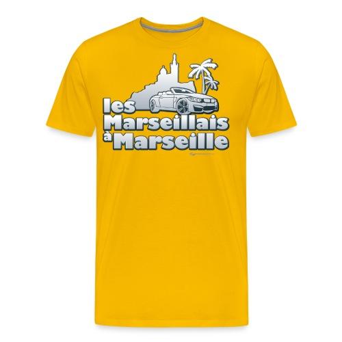 les marseillais à marseille - T-shirt Premium Homme