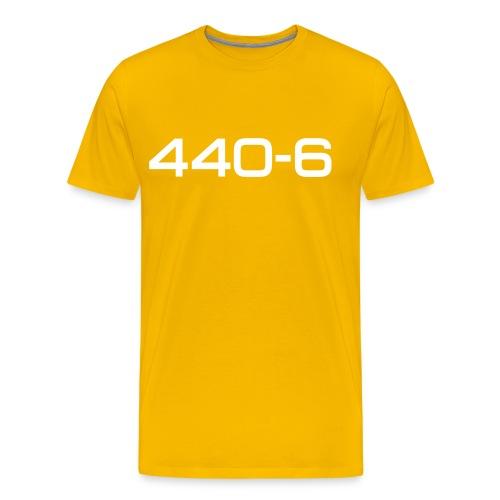 Cuda 440-6 script - Autonaut.com - Men's Premium T-Shirt