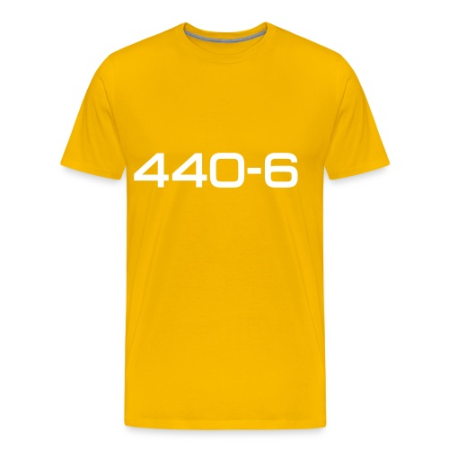 plymouthbarracuda440601b - Premium T-skjorte for menn