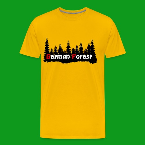 GermanForest png - Männer Premium T-Shirt
