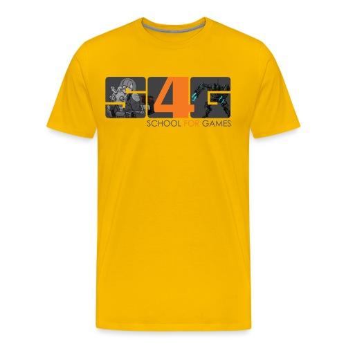 S4G character OxyGen png - Männer Premium T-Shirt