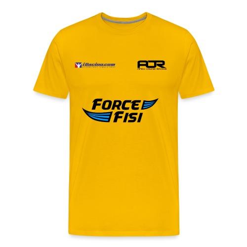 AOR Logo Black png - Men's Premium T-Shirt