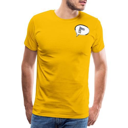 BrugKunstSomVåben - Herre premium T-shirt
