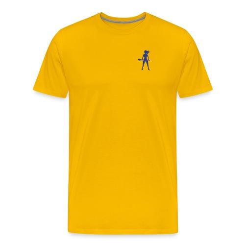 hurlingbabebluetp - Men's Premium T-Shirt