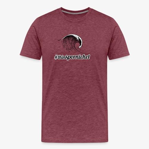 Vague Wave Thinkpornichet by DesignTouch - T-shirt Premium Homme