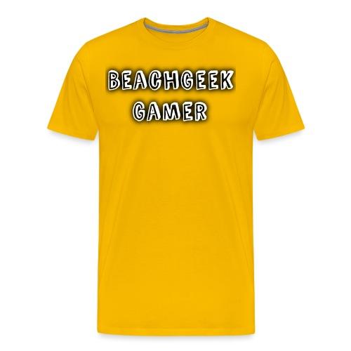Classic BeachGeek - Men's Premium T-Shirt