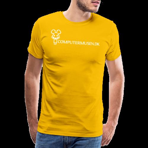 CM 2 - Herre premium T-shirt