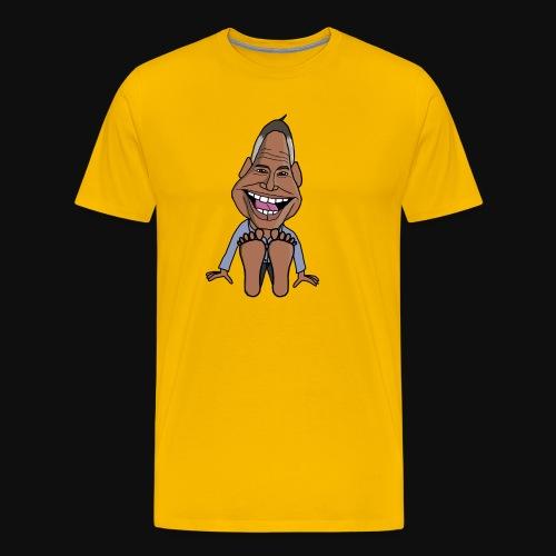 Fötter K - Premium-T-shirt herr