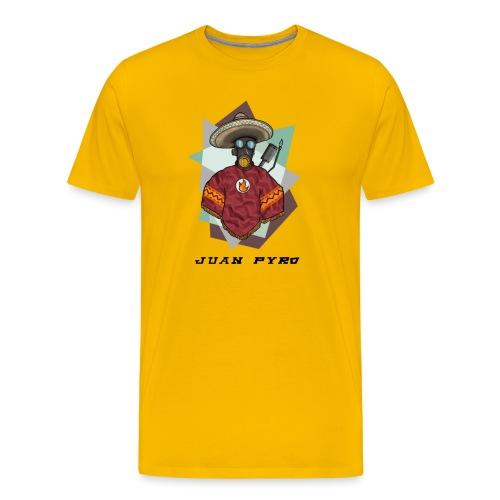 Jaun Pyro 4000x4000 - Men's Premium T-Shirt