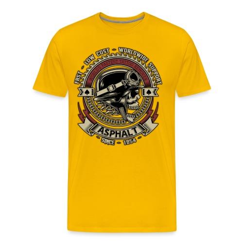 Asphalt - Maglietta Premium da uomo