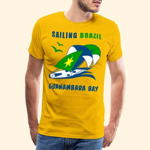 Sailing Brazil - Men's Premium T-Shirt