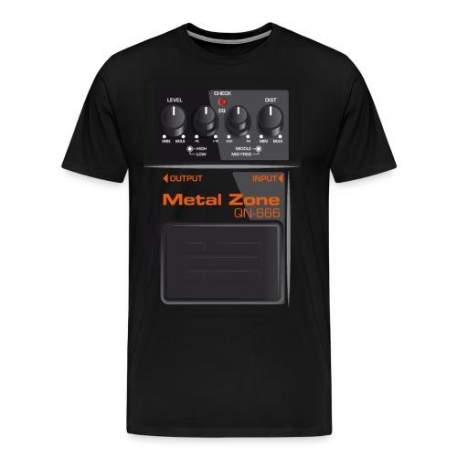Metalzone - Männer Premium T-Shirt