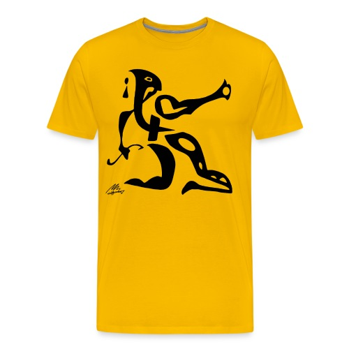 The Sphinx - Herre premium T-shirt