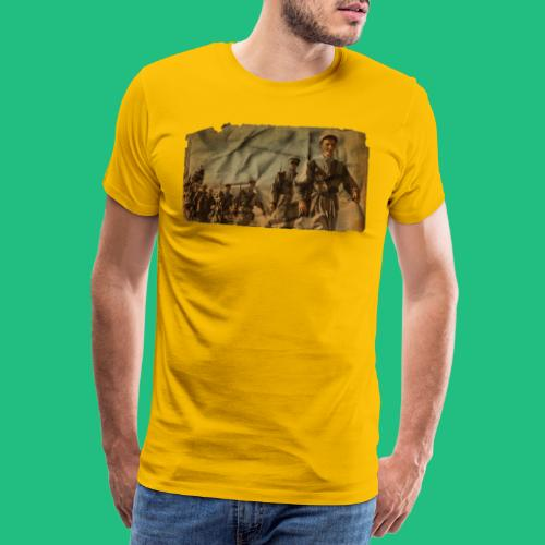 legionnaire desert jaune - T-shirt Premium Homme