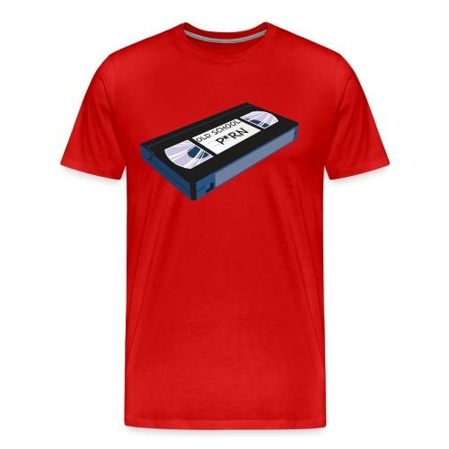 OLD SCHOOL P * RN vhs - T-shirt Premium Homme