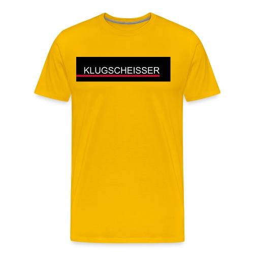 Klugseisser - Männer Premium T-Shirt