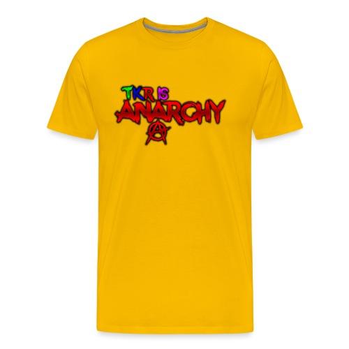 TKR IS ANARCHY! - Premium-T-shirt herr