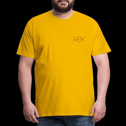 Moderne Loft Stil Schrift KEK - Männer Premium T-Shirt