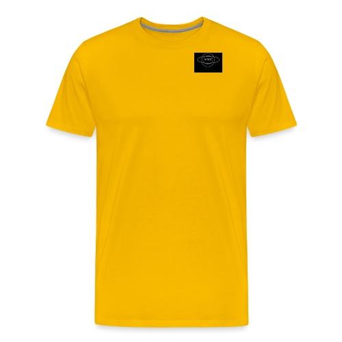 Minus Saturn logo - Men's Premium T-Shirt