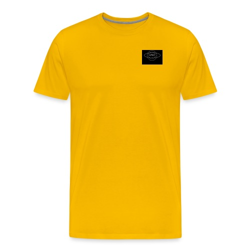 Minus Saturn logo - Men's Premium T-Shirt