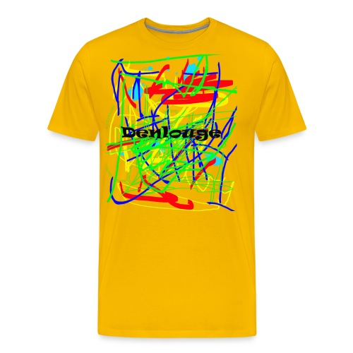 Denlouge Abstract - Männer Premium T-Shirt