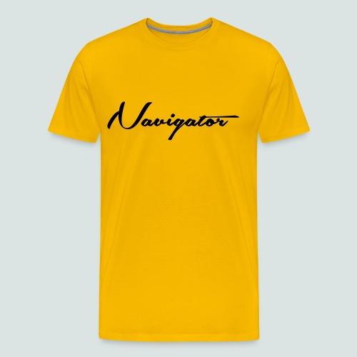Navigator_02 - Männer Premium T-Shirt