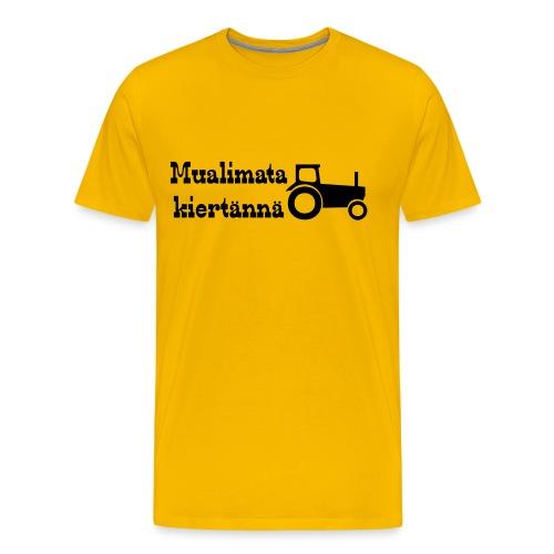 mualimata - Miesten premium t-paita