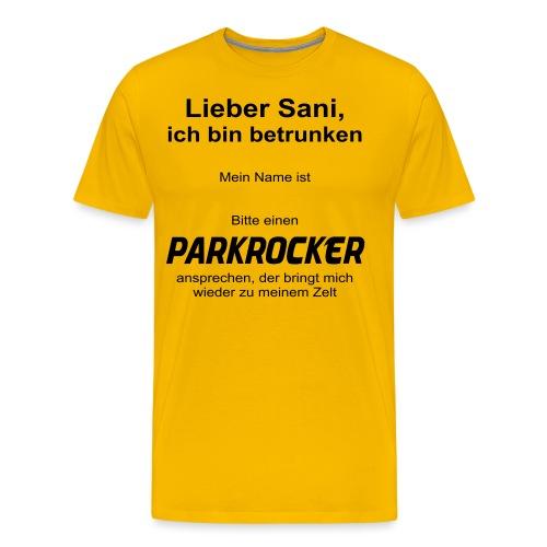 lieber sani - Männer Premium T-Shirt
