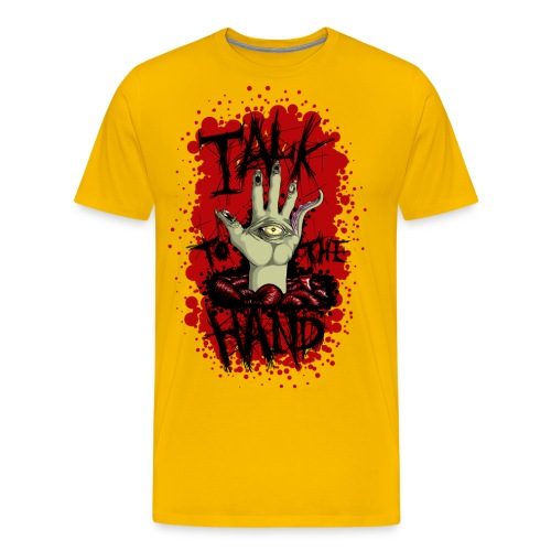 Talk to the hand png - Men's Premium T-Shirt