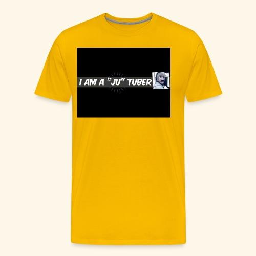 I am a JU Tuber - Männer Premium T-Shirt