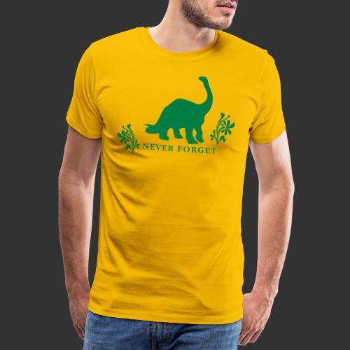 naken neverforget - Premium-T-shirt herr