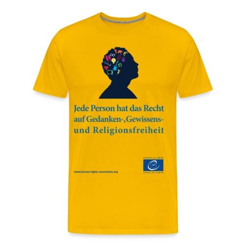 g pense - Männer Premium T-Shirt