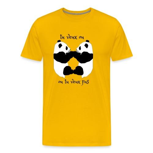 tu veux ou tu veux pas - T-shirt Premium Homme