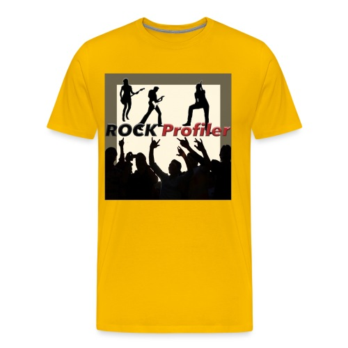 ROCK Profiler on Stage - Premium-T-shirt herr