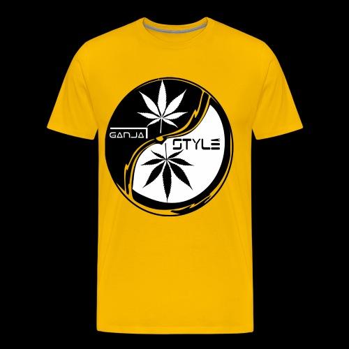 yin yang 2 - Männer Premium T-Shirt