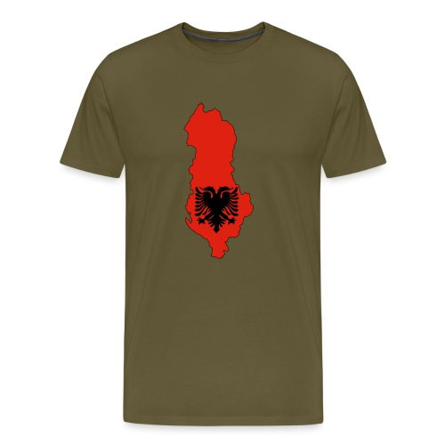 Albania - T-shirt Premium Homme