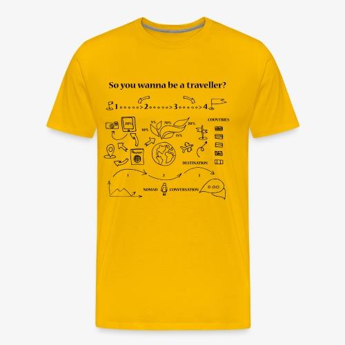 nomad - Men's Premium T-Shirt