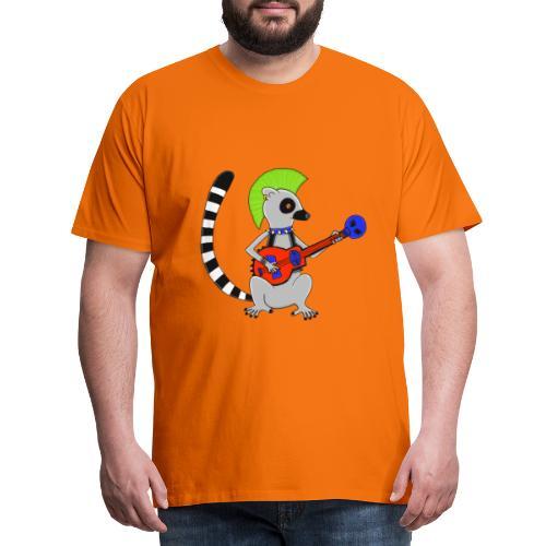 Katta-Punk - Männer Premium T-Shirt