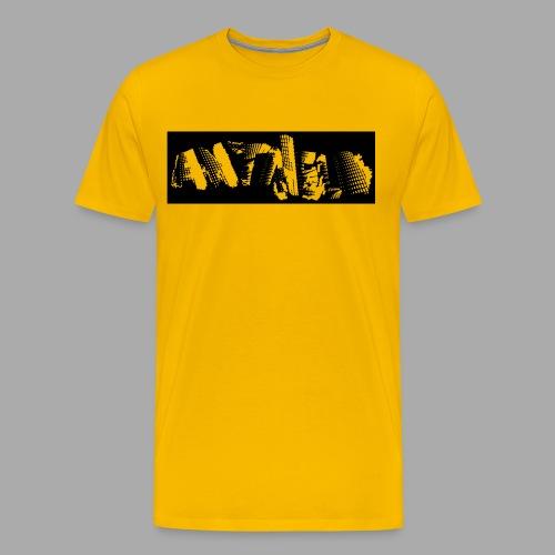 antiheld negativ - Männer Premium T-Shirt
