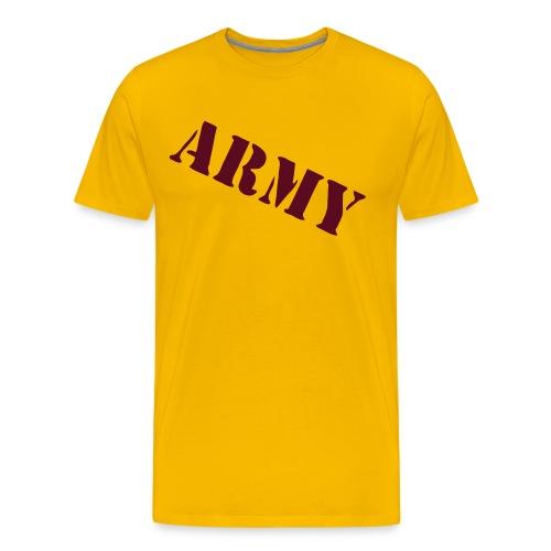 army - T-shirt Premium Homme