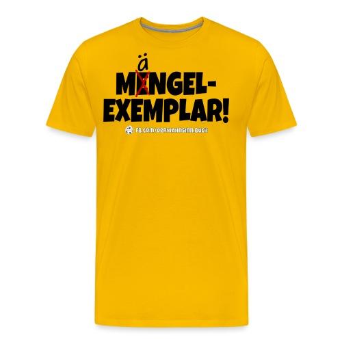 Shirt Mängel png - Männer Premium T-Shirt