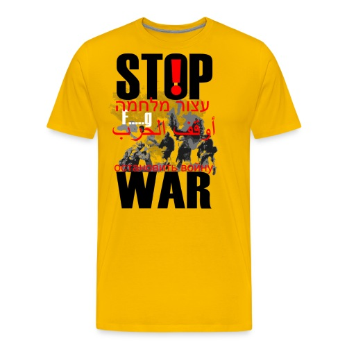 Stopwar - dont fight any more - Men's Premium T-Shirt