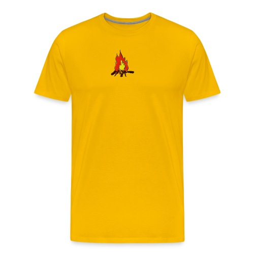 Fire color fuoco - Maglietta Premium da uomo