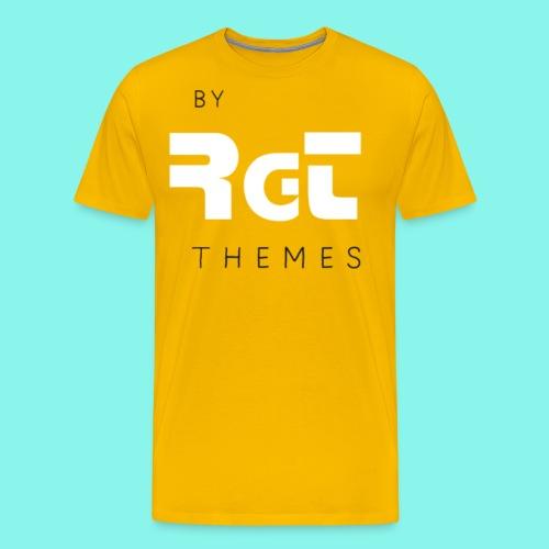 BY RGT THEMES white - Camiseta premium hombre