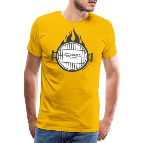 Anthony Bourdain - Männer Premium T-Shirt