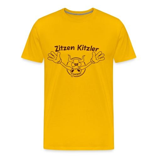 Zitzenkitzler - Männer Premium T-Shirt