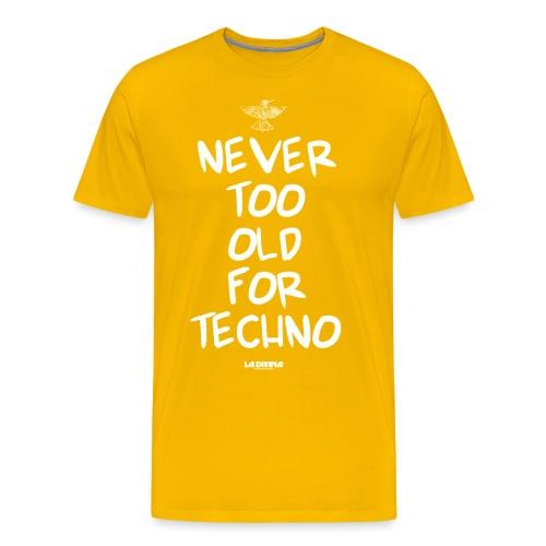 NEVER TOO OLD - Men's Premium T-Shirt