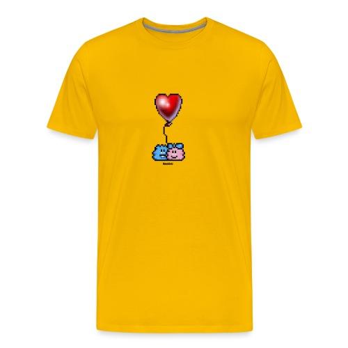 Heart Balloon - Männer Premium T-Shirt