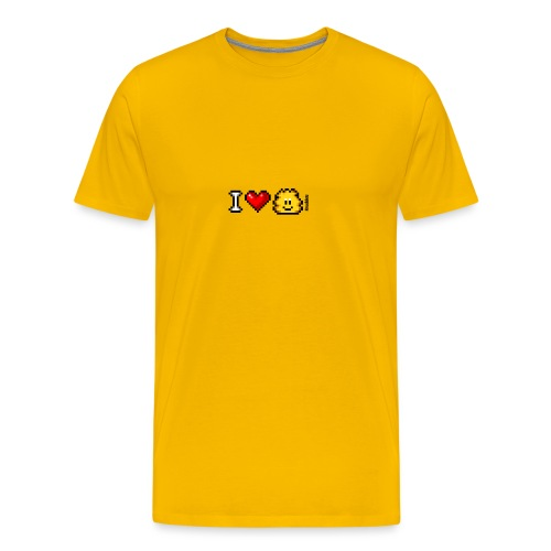 I Love Knuddels - Männer Premium T-Shirt